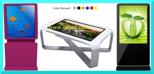 الشاشات الأرضية Floor Standing LCD